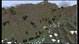 Mr Blocks, Ordnance Survey's resident Minecraft whiz, flies us through the Alps