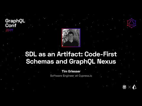 SDL as an Artifact: Codefirst Schemas and GraphQL Nexus