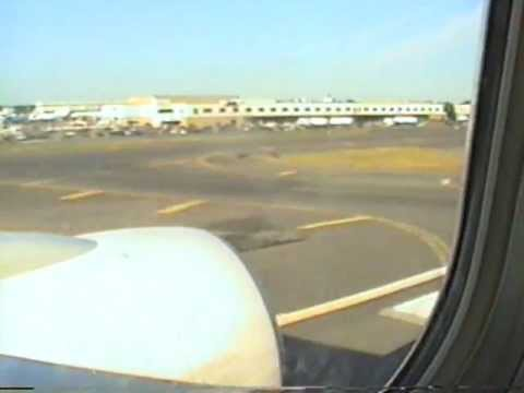 TWA Landing in JFK New York City in August 1999
