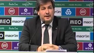 Bruno de Carvalho dá baile à imprensa com uma Belfodil!!