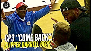 """Clipper Darrell"" Singing ""Baby Come Back"" to Chris Paul LOL 