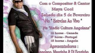 Maya Cool Na RCA (Radio Cultura Angolana) Sabado Dia 5 De Fevereiro De 2011 ..avi