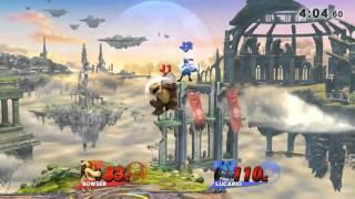 smash 4 venus - psy(bowser) vs kyle(lucario)