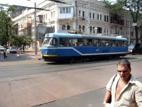 Odessa, Ukraine – Street Trolleys