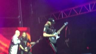 "Judas Priest ""Turbo Lover"" Sydney Australia Soundwave Festival 1/3/15"