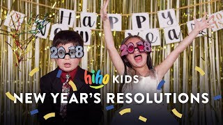 HiHo Kids Share Their New Years Resolution