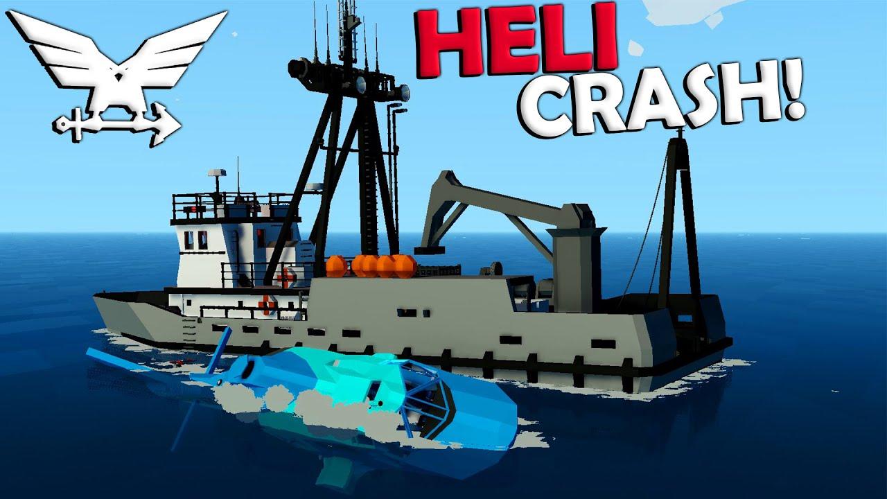Frantic - Crashing Into An AI Ship!  -  Stormworks Gameplay