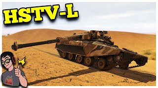 War Thunder - HSTV-L - True American Six Shooter
