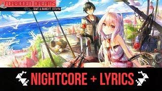 ❰ Nightcore → Forbidden Dreams (DLMT & RAWD ft. Stevyn) + Lyrics  ❱