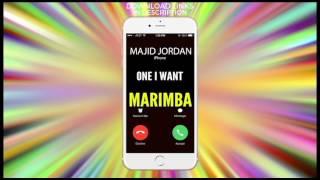 Latest iPhone Ringtone - One I Want Marimba Remix Ringtone - Majid Jordan