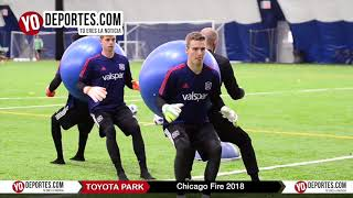 Chicago Fire pre temporada 2018 en Toyota Park