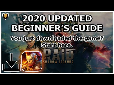 RAID Shadow Legends | 2020 Updated Beginner's Guide