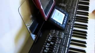 Sarashim Intro, Ibrahim Tatlises, Korg Pa3X, CE-USB