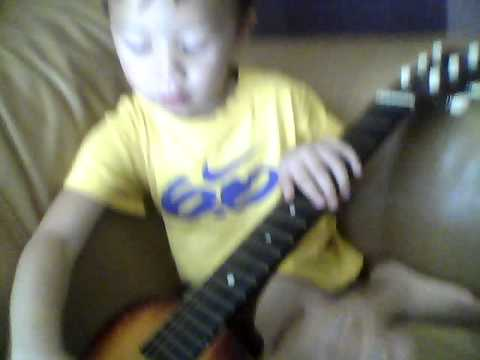 two year old Virgil singing We Are Young
