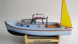 nautimodelismo CONSTRUÇÃO DO YATE LAURA B; How to Make a yacht
