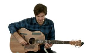 Percussive Fingerstyle - #19 Pendulum - Guitar Lesson - Daniel Champagne