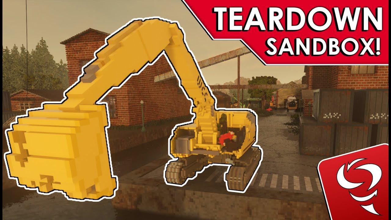 Frantic - So Many Vehicles!!  - TEARDOWN Sandbox - Part 1