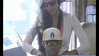 Kelly faz massagem a Pedro Guedes Big Brother Vip