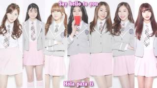 [Produce 101] Girls On Top - In the Same Place [Sub Español | Hangul | Roman]