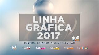 Nova linha gráfica da TVI (2017) HD