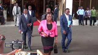 Ouverture du dialogue politique dans la salle présidential Auditorium EVALA du 2 février à Lomé.