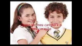 Carrossel - Pertinho de mim - (Maísa) - Legendas/Letras - Tema:(Davi & Valéria)