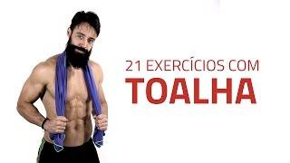 21 Exercícios com Apenas Uma Toalha | Sérgio Bertoluci