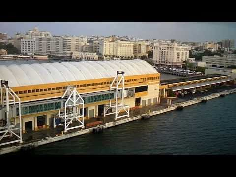 Puerto Rico as seen from Carnival Liberty Cruise Ship (Video 4) by jonfromqueens