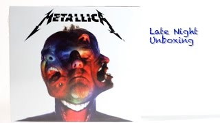 Metallica | Hardwired...To Self Destruct Music Album Unboxing