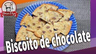Como fazer Biscoito de chocolate