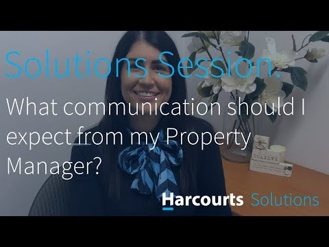 SOLUTIONS SESSION - What communication should I expect from my Property Manager? - Natalie South