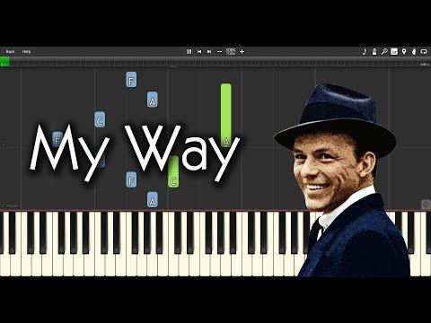 Comment jouer My Way au piano (version Richard Clayderman)