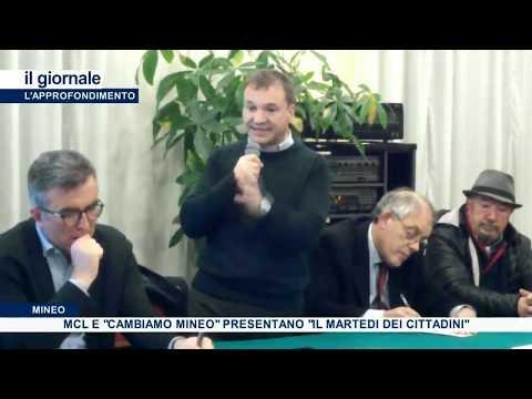 """(VIDEO) Interviste realizzate su """"Il Martedì dei cittadini"""" del MCL di Mineo, nel TG di Tvr Xenon di ieri sera, mercoledì 19 febbraio"""