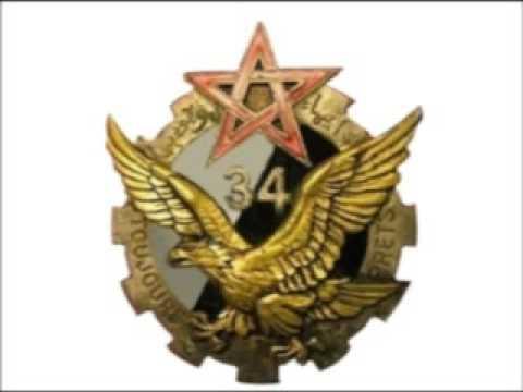 Maroc Meknès 34éme Escadron du Train