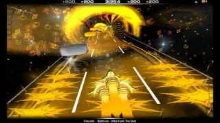 Audiosurf : Nightcore - What Hurts The Most [ Cascada ] (HD)