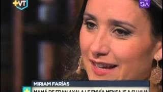 "Francisca Ayala: ""Mi mamá es una mujer luchadora"""
