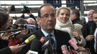 Hollande boycotté : le candidat PS se dit serein