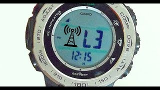 How Radio Controlled Casio Watches sync with Atomic Clock