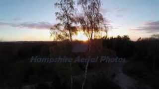 Hampshire Aerial Photos Video Compilation Reel