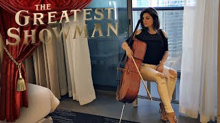The Greatest Showman | Never Enough | CELLO COVER by Vesislava