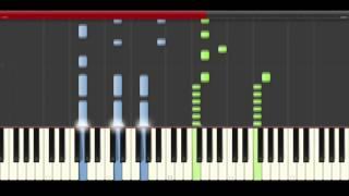 Major Lazer Bad Royale My Number piano midi tutorial sheet partitura cover app karaoke