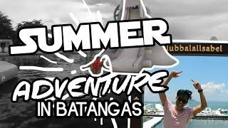 Vlog: Summer Adventure in Batangas + Aqua Park Experience