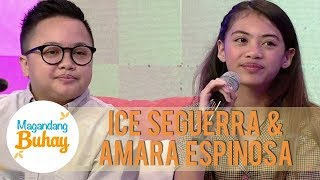 Ice on being a parent to Amara | Magandang Buhay