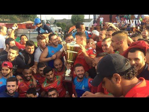 La joie de la sélection nationale après la victoire en Silver Cup de rugby