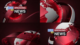 Breaking News Pack | After Effects template