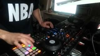 JAVIER MANZANO DJ, turn down for what remix on traktor F1