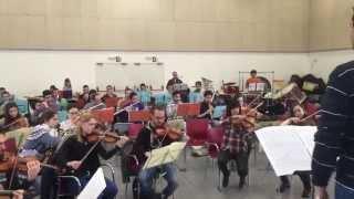 """Ensayos """"STAR WARS""""-Oscar Navarro-Excelentia Pops Sympony Orchestra"""