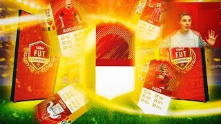 HAZARD IF ROJO IN A PACK!! | BRUTALES RECOMPENSAS MENSUALES!! | FIFA 18