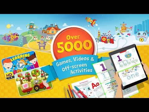 Preschool and Kindergarten Learning Games by Kids Academy