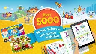 Preschool and Kindergarten Learning Games by Kids Academy